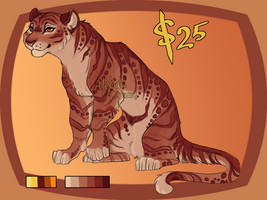 Rusted Rose Adopt (SOLD) by yelnatsdraws
