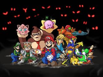 Super Smash Bros Ultimate Original 12 by Metal-M