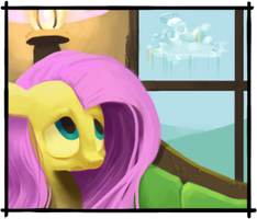 Fluttershy Panel -- Home by JustDayside