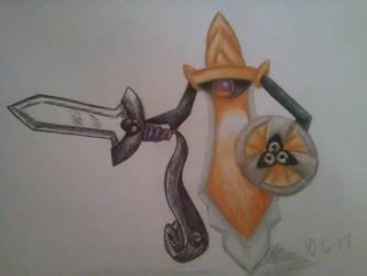 Drawtober- Sword (Day 6) by RadiantSound