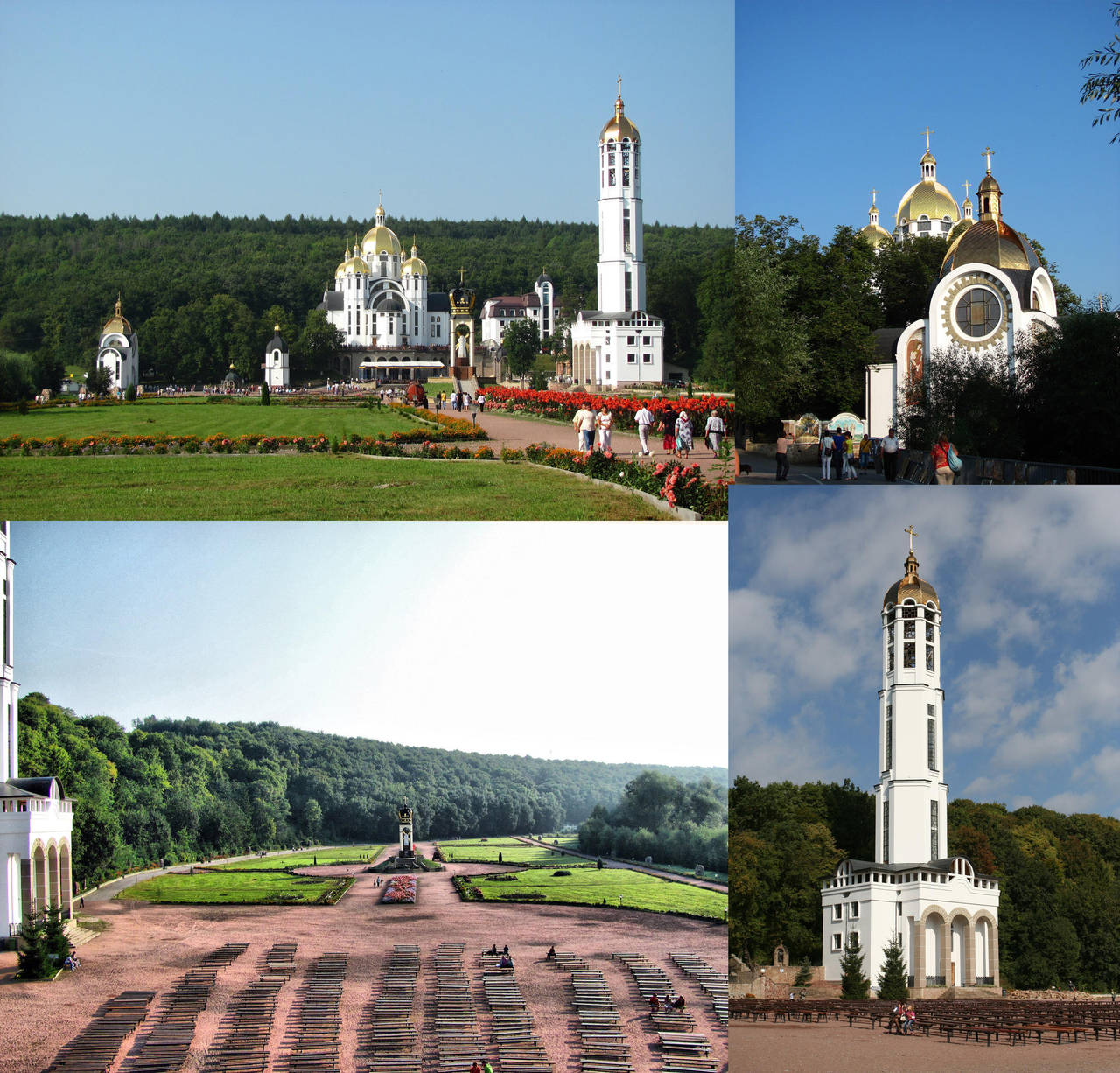 Church complex in Zarvanytsia by AtreJane