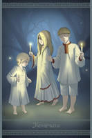 Ukrainian Mythology: Poterchata by AtreJane