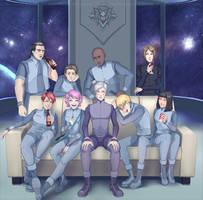 Luna Cerberus Crew Team by AtreJane
