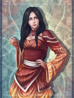 Commission: Ember by AtreJane