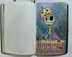 Happy Halloween 2016 by AtreJane