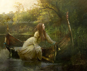 Lady of Shalott by esstera