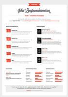 Resume template by mareklevak