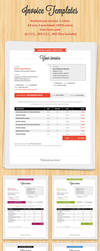Invoice template by mareklevak