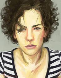 Self Portrait by Marioni-Lammie