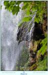 Waterfall in Summer by LilyStox
