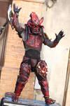 Sci-Fi Star Wars Monster Warrior 1 by LilyStox