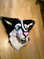 Cat-thingie head finished by VzioN-suits
