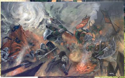 Siege of Hellscream (World of Warcraft). by d1eselx