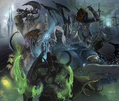 Heroes of the Storm by d1eselx