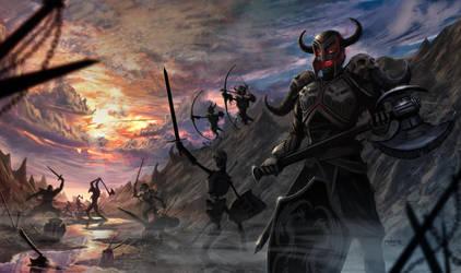 Legion Battlefield by d1eselx