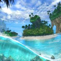 Island by d1eselx