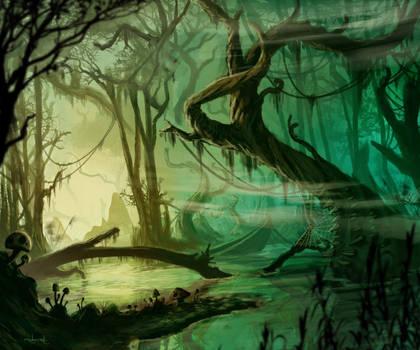 Swamp by d1eselx
