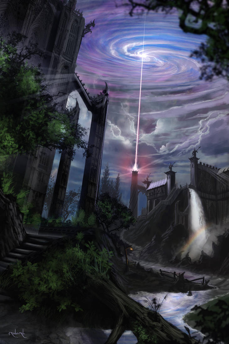 Castle Beam by d1eselx