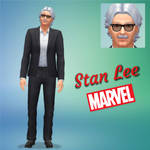 Stan Lee by Crazysimsgirl4