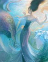 Sea goddess by Toru-meow