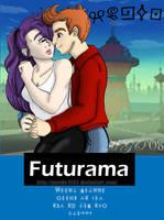 Futurama: Leela and Fry by Gazelle1583