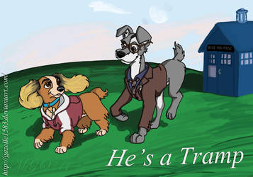 He's a Tramp by Gazelle1583