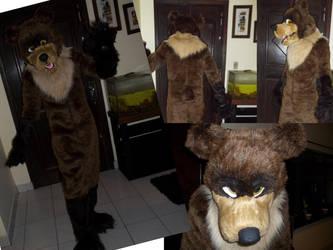 Commission - Mock Bear by FursuitBrasil