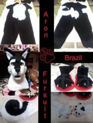 Fursuit Aron comissao by FursuitBrasil