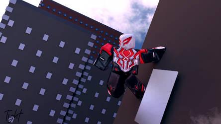 ANAD 2099 SpiderMan by LLCOOLTIGHT