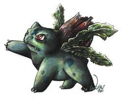 Ivysaur by OwlBulldog