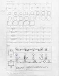 Model Sheet 1 by WingedJac
