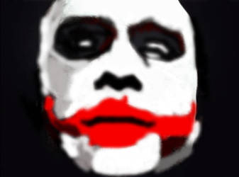 The Joker Face Photoshop by TheJoker1997