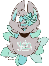 Succulent YCH | OPEN by coldioc