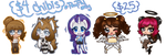 Exp Style Chibis Sale by Dare2DreamMedia