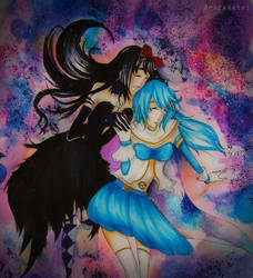 Save me Homura by Amazarahi