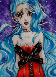 Vamp Hydrangea by Amazarahi