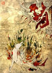 Okami - Amaterasu by Kenjha