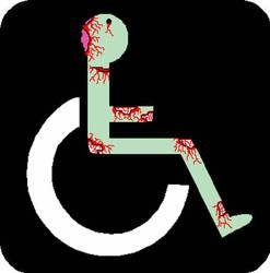 Handicap Zombie by beefkake