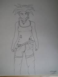 Brala ou Labra fusion de Son Bra et de Lara Croft  by BarbuMA61