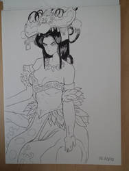 princesse Kushinata by BarbuMA61