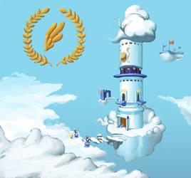 Air Force Headquarters: Cloudopolis by Nadesican