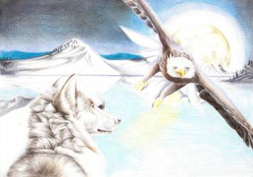 Winter's Night by LyrebirdJacki