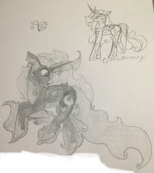Galactic Serenity by ChangelingButterfly