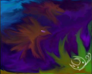 Dragon Fish? Original version. by ChangelingButterfly