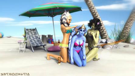Barrissokanopatrix Vacation Art Jam by 0biwanken0bie