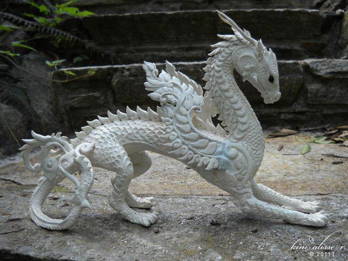Dragon Sculpture WIP by kimrhodes
