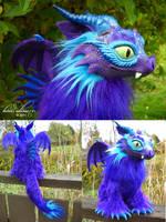 Purple Dragon by kimrhodes