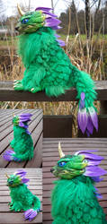 Flower Dragon by kimrhodes