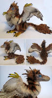 Feathered Velociraptor by kimrhodes