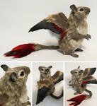 Winged Degu by kimrhodes